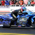PRO STOCK MOTORCYCLE'S LE TONGLET BELIEVES HE CAN RECREATE REGULAR SEASON SUCCESS AT DODGE NHRA NATI ONALS