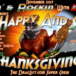 Racin' & Rockin' with DragList.com wishes all a Safe & Happy Thanksgiving for 2017!