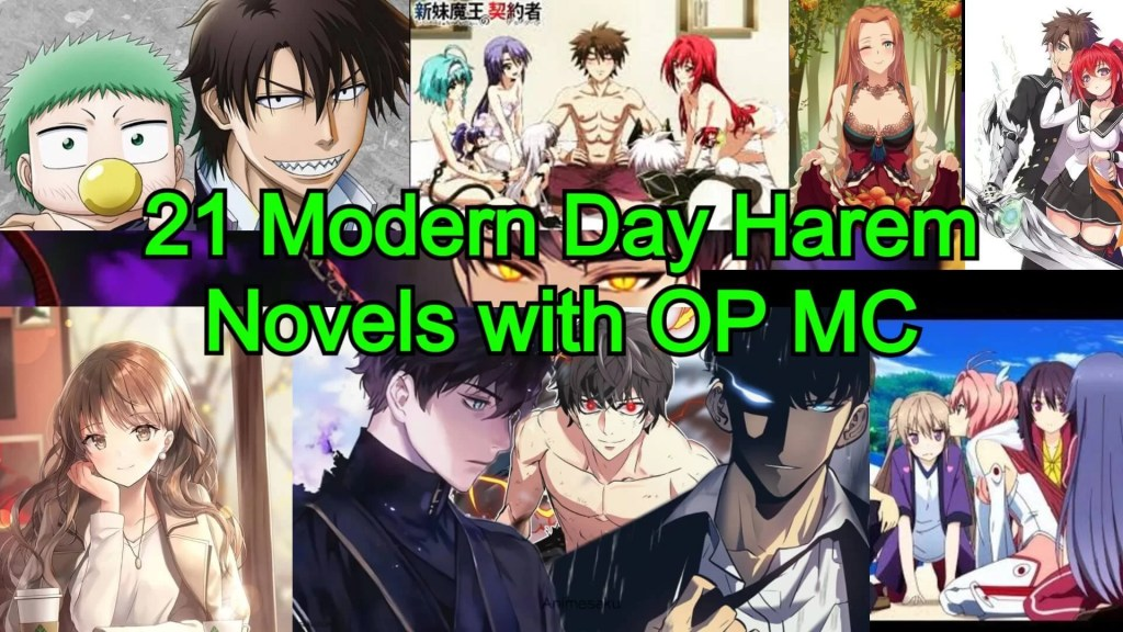 21 Modern Day Harem Novels with an Overpowered Main character