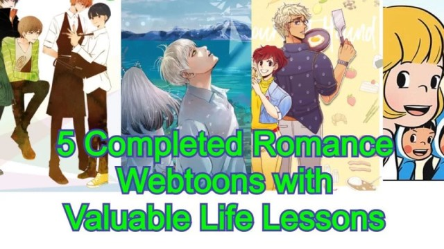 Completed Romance Webtoons in an image