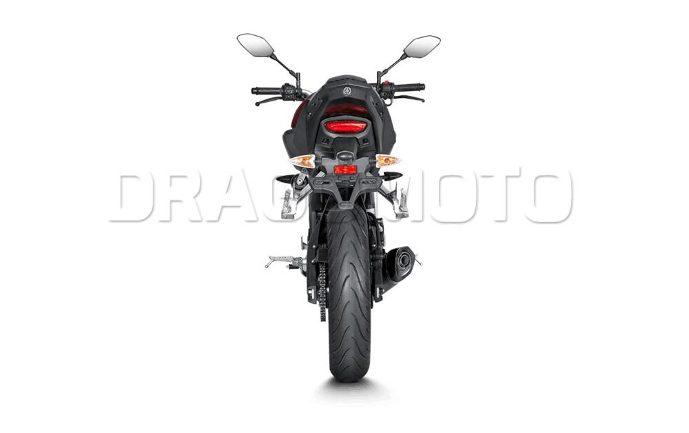 Yamaha MT-125 Akrapovic 2017 17 2018 18 Full exhaust