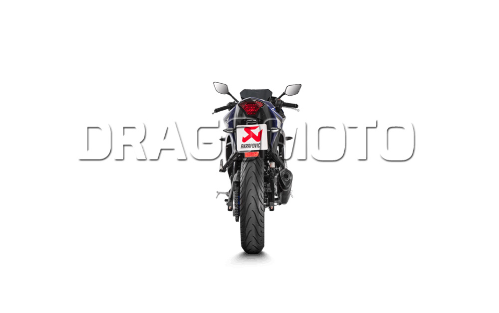 Akrapovic Yamaha YZF R3 2015 15 2016 16 Full exhaust