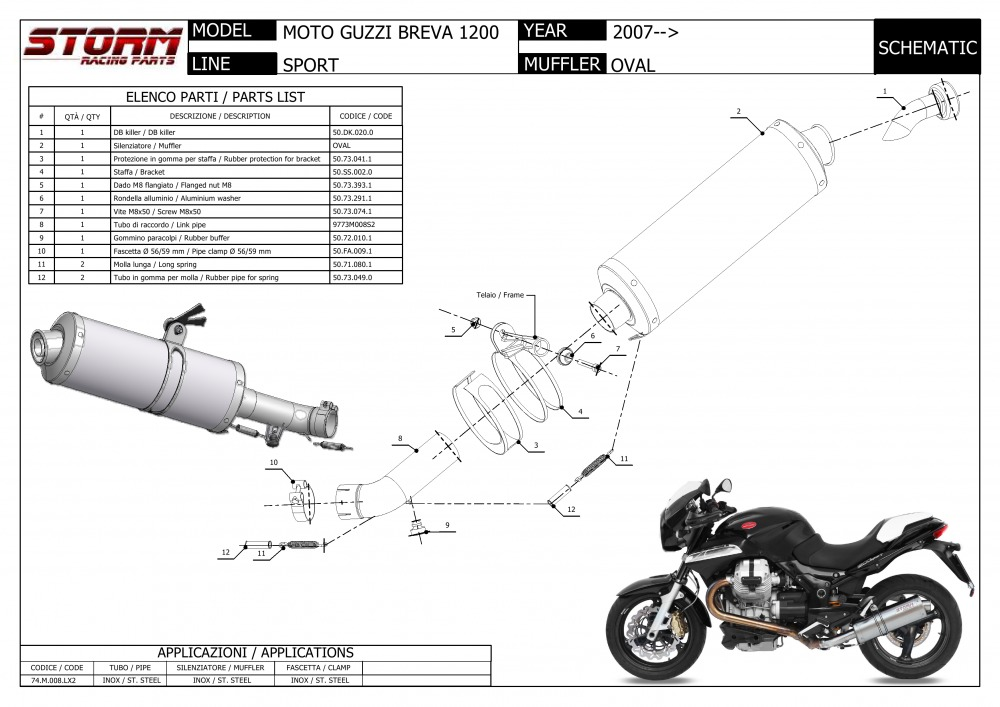 Vehicle Parts & Accessories Motorcycle Slip-On Exhausts