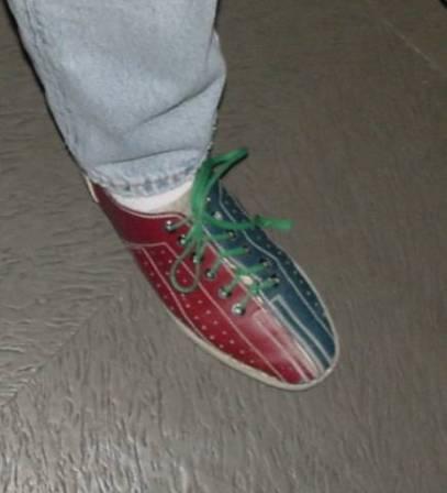 Noch ein Schuh