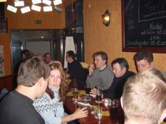 Members beim Talk