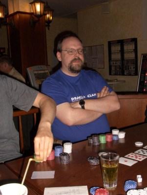 beim Pokerturnier im Pub