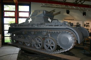 der gleiche Panzer aus einer anderen Sicht