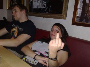 Sandra's Finger stinkt