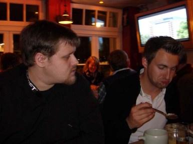 Yan & Souv (mit kartoffelsuppe.... lecker!?)