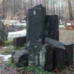 Siebengebirge naturaleza, piedras, basalto