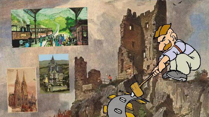 Siebengebirge historia, Imperio Alemán, era Bismarck