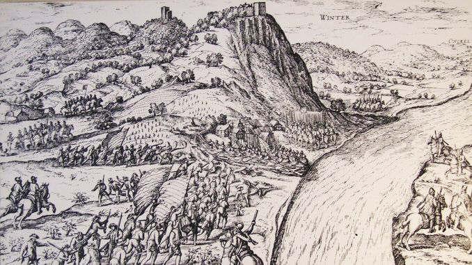 Siebengebirge historia, temprana Edad Moderna, Königswinter 1583