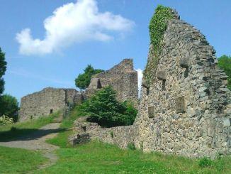 Ruina medieval Löwenburg, Siebengebirge, Bad Honnef