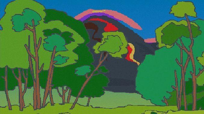 Siebengebirge naturaleza, origen volcánico