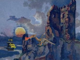 Contes des Siebengebirge, le dragon méchant