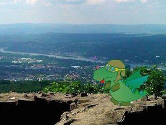 Contes des Siebengebirge, les dragons