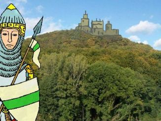Siebengebirge histoire, Haut Moyen Age, dynastie des Saxons et Saliens