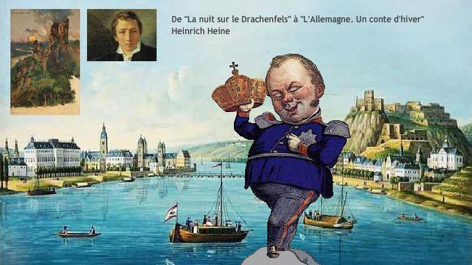 Roi Friedrich Wilhelm IV., Heinrich Heine, Coblence