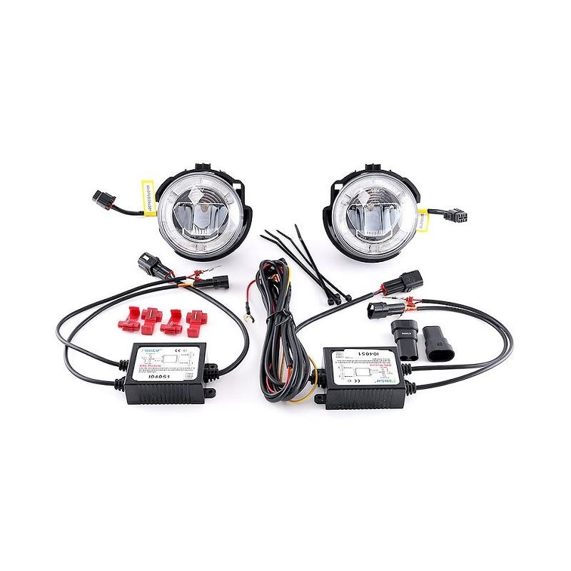 LED Tagfahrlicht und Nebellampe Subaru Impreza STI 2007