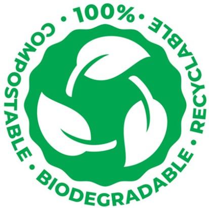 Bagasse Compostable & Biodegradable A4 Labels