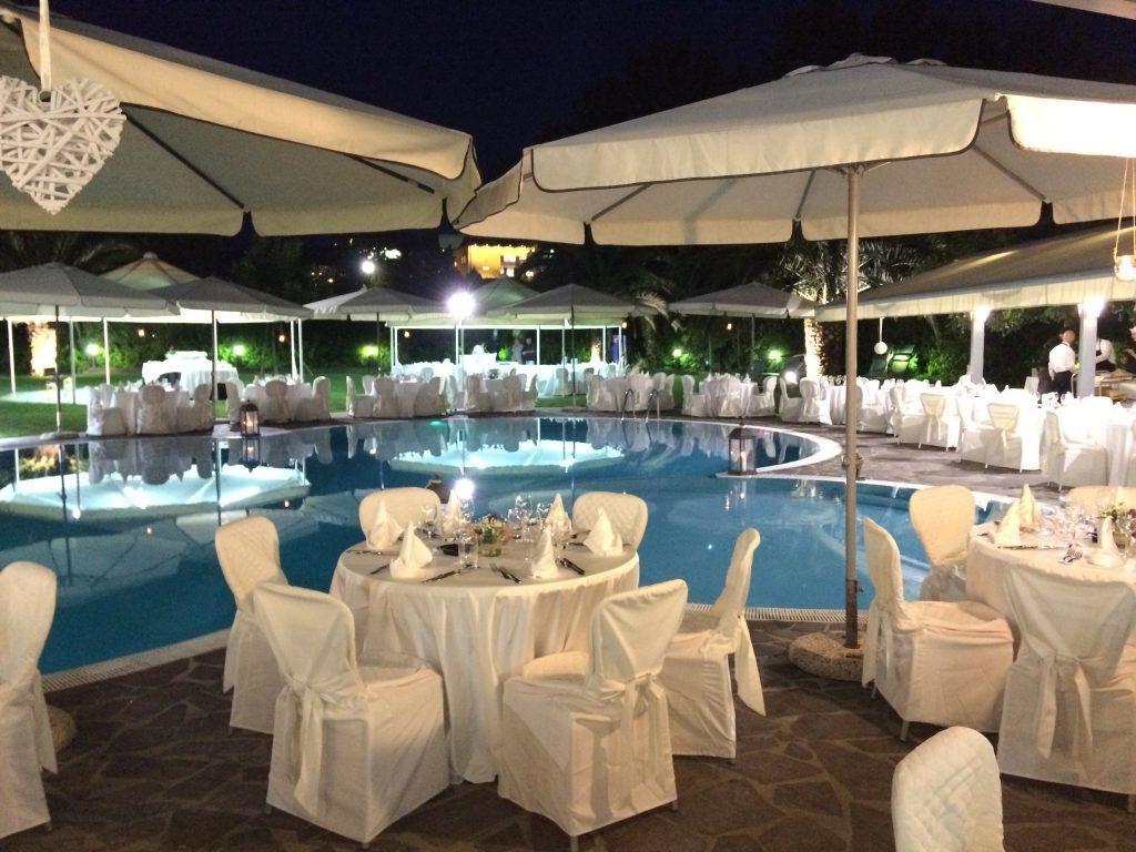 Piscina  Hotel Dragonara Hotel con piscina Pescara