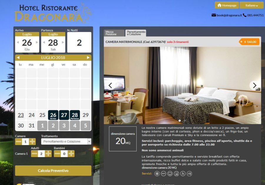 Cattura  Hotel Dragonara