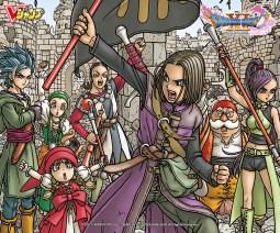 Wallpaper Dragon Quest XI