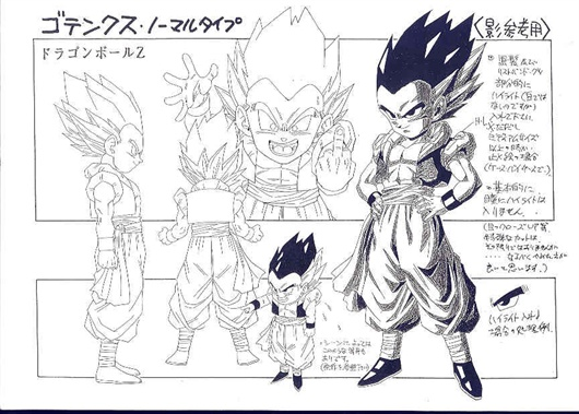 Chara Sheet Gotenks