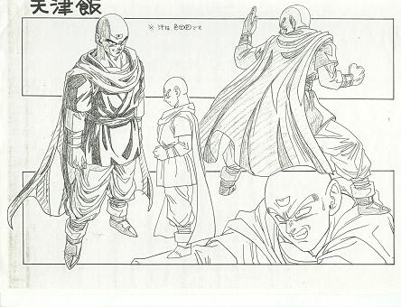 Chara Sheet Ten Shin Han saga Buu
