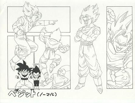 Chara Sheet Vegetto