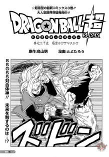Dragon Ball Super chapitre 25