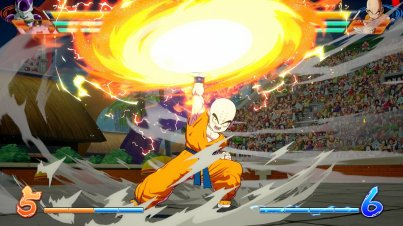 Kuririn dans Dragon Ball FighterZ