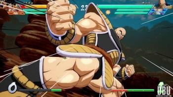 Nappa dans Dragon Ball FighterZ
