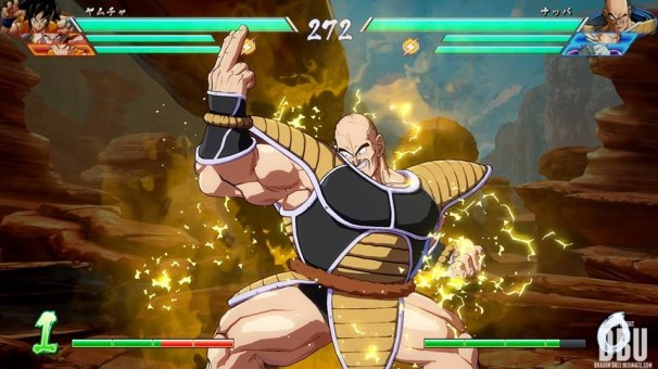 Nappa dans Dragon Ball FighterZ