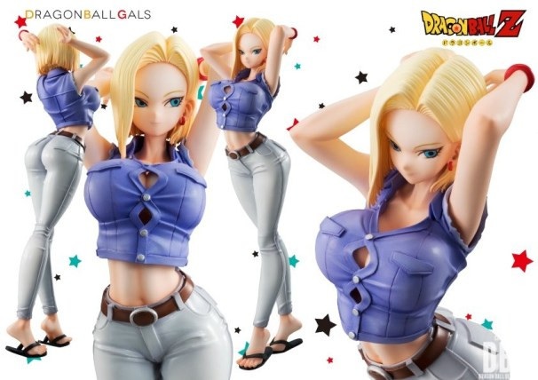 Dragon Ball Gals - N°18 ver. III