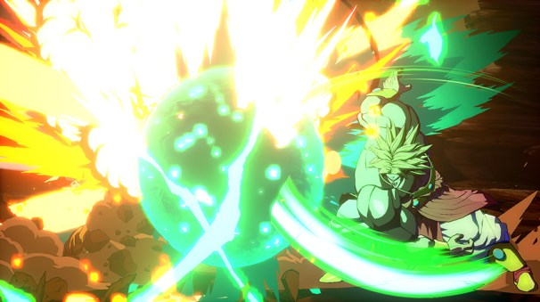 Broly dans Dragon Ball FighterZ