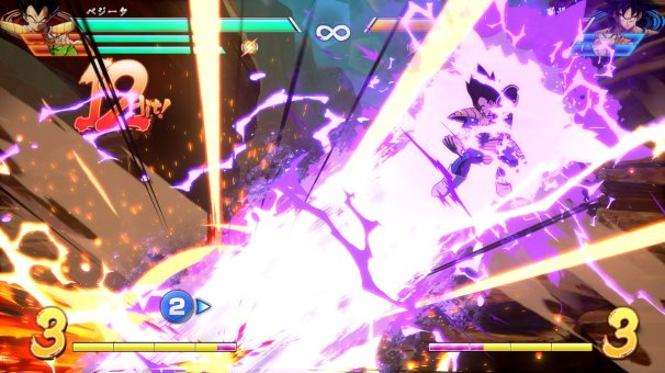 Vegeta dans Dragon Ball FighterZ
