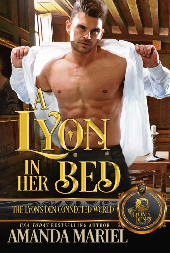 a lyon in her bed high res