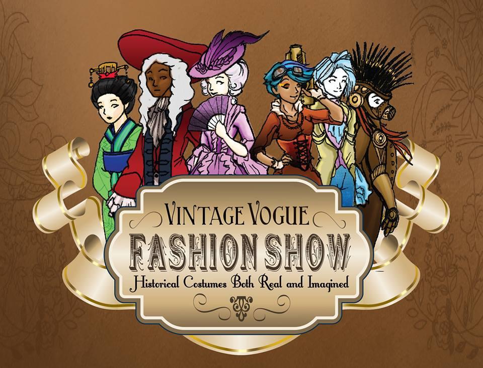 2014 DC Vintage Vogue Fashion Show Costume