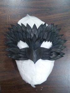 Owl Mask for Masked Ball