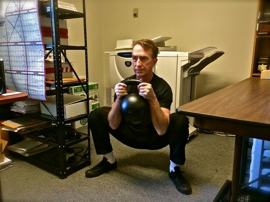 Kettlebells at Work Reversing the Negative Health Effects