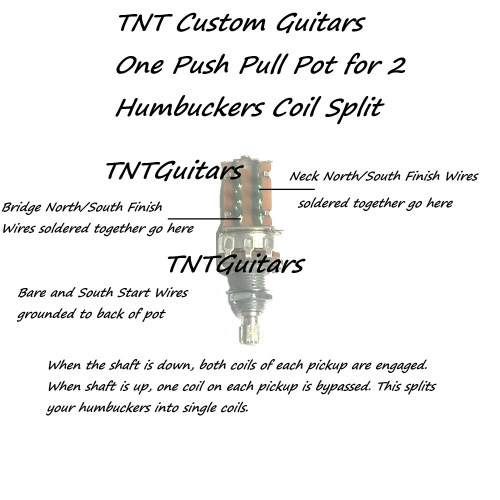 small resolution of 1v1t prewired harness 2 pickup push pull coil cut with 3 way blade switch
