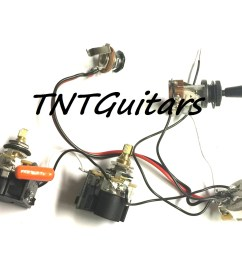 1v2t prewired harness 2 pickup cts push pull dual coil cut toggle switch [ 1500 x 1144 Pixel ]