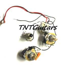 1v2t prewired harness 2 pickup cts push pull dual coil cut toggle switch [ 1500 x 1298 Pixel ]