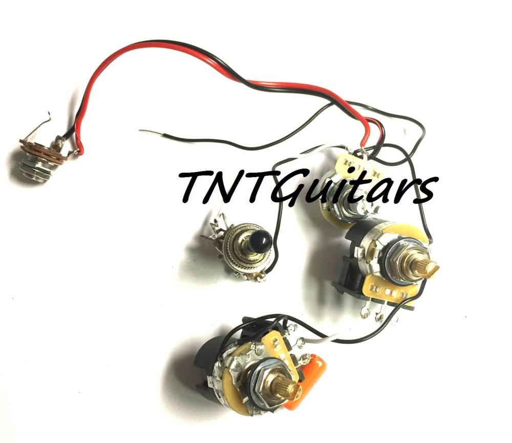 medium resolution of 1v2t prewired harness 2 pickup cts push pull dual coil cut toggle switch