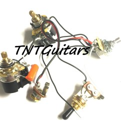 1v2t prewired harness 2 pickup cts push pull dual coil cut toggle switch [ 1500 x 1308 Pixel ]