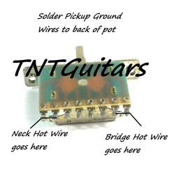 1v1t prewired harness 2 pickup push pull coil cut with 3 way blade switch [ 1500 x 1521 Pixel ]