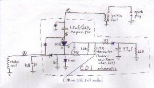 Repairing the KDX CDI