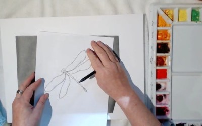 Three Ways to Transfer Drawings to Watercolor Paper