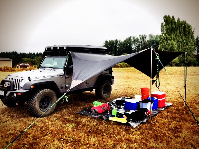 Naga – Jeep Tarp